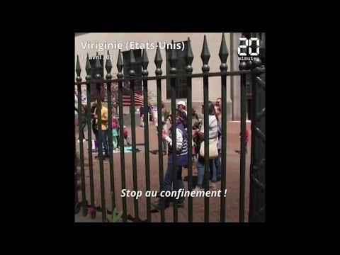 Coronavirus: Les manifestations anti-confinement se multiplient aux Etats-Unis