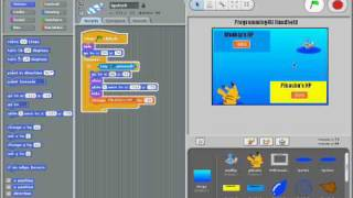 Scratch Tutorial Pokemon Battle P2