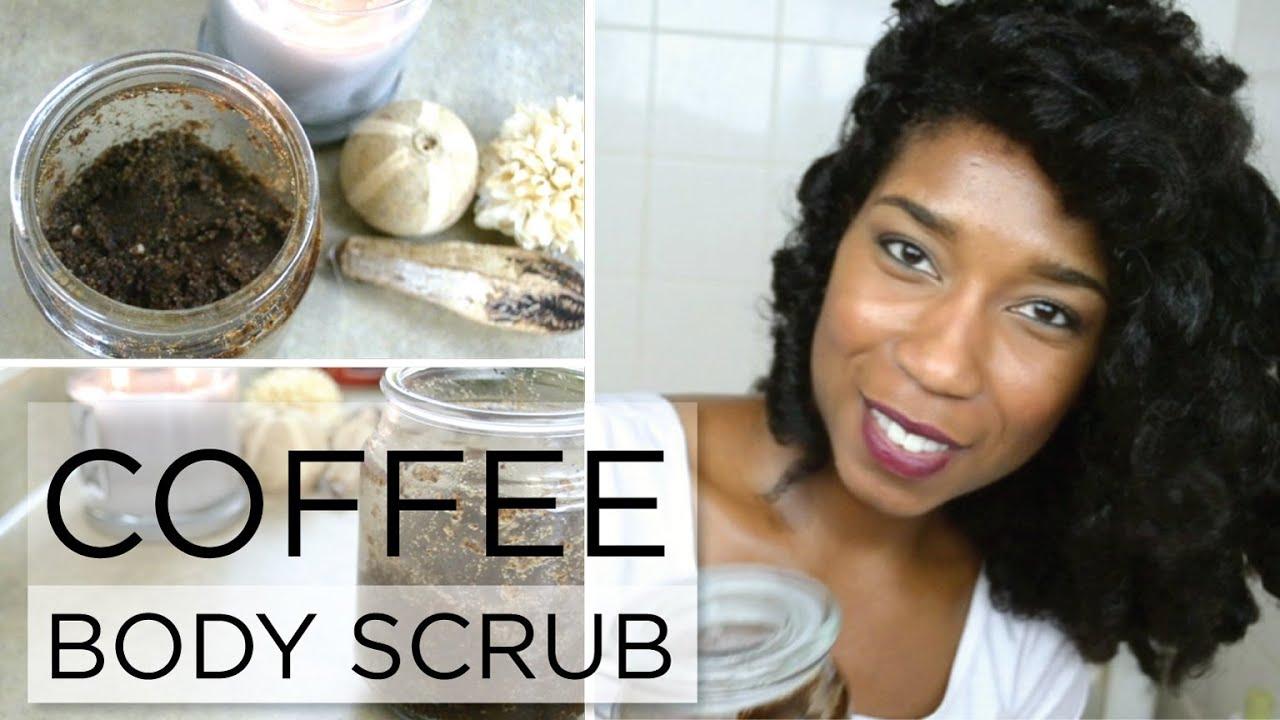Diy Brightening And Exfoliating Coffee Body Scrub  Stylebynap85