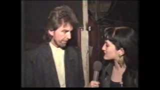 George Harrison backstage 1987 Prince
