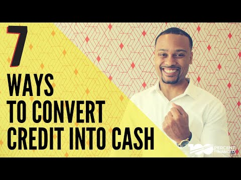 Top Ways To Turn Any Business Credit Card Into Cash