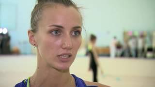 Анна Ризатдинова. Интервью на день рождения. Открытая тренировка, Киев 16/07/2016
