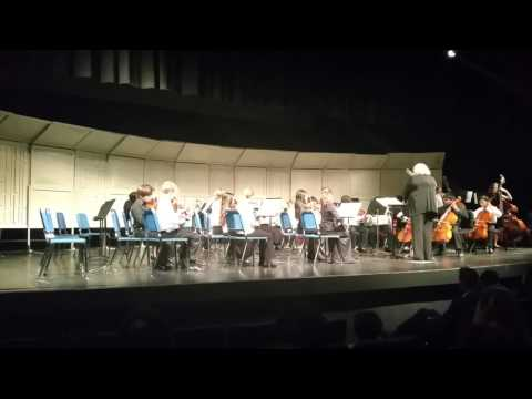 Kara at Wydown middle school 6th grade orchestra