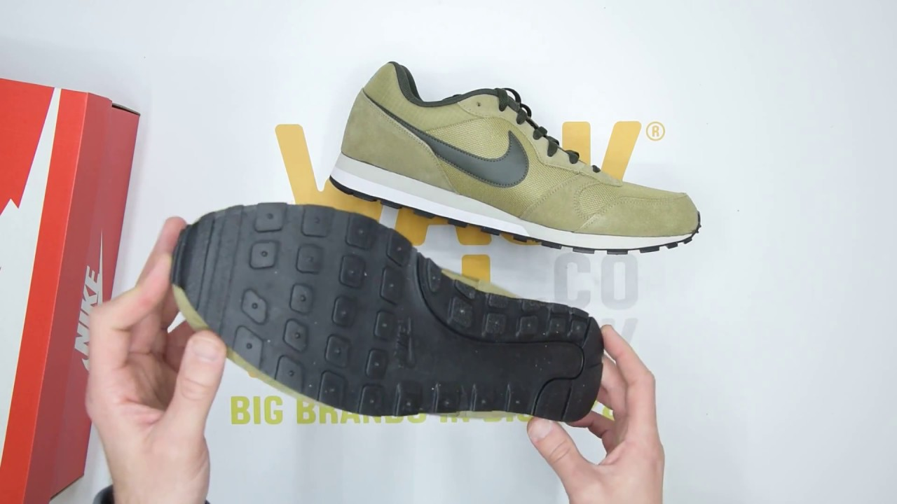 Puro enfocar Primero  Nike MD Runner II - Olive Blue - Unboxing | Walktall - YouTube