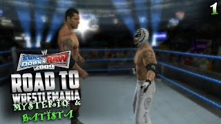 UN GRAN EQUIPO | Mysterio & Batista Road to WrestleMania (SvR 2009) | EPISODIO 1