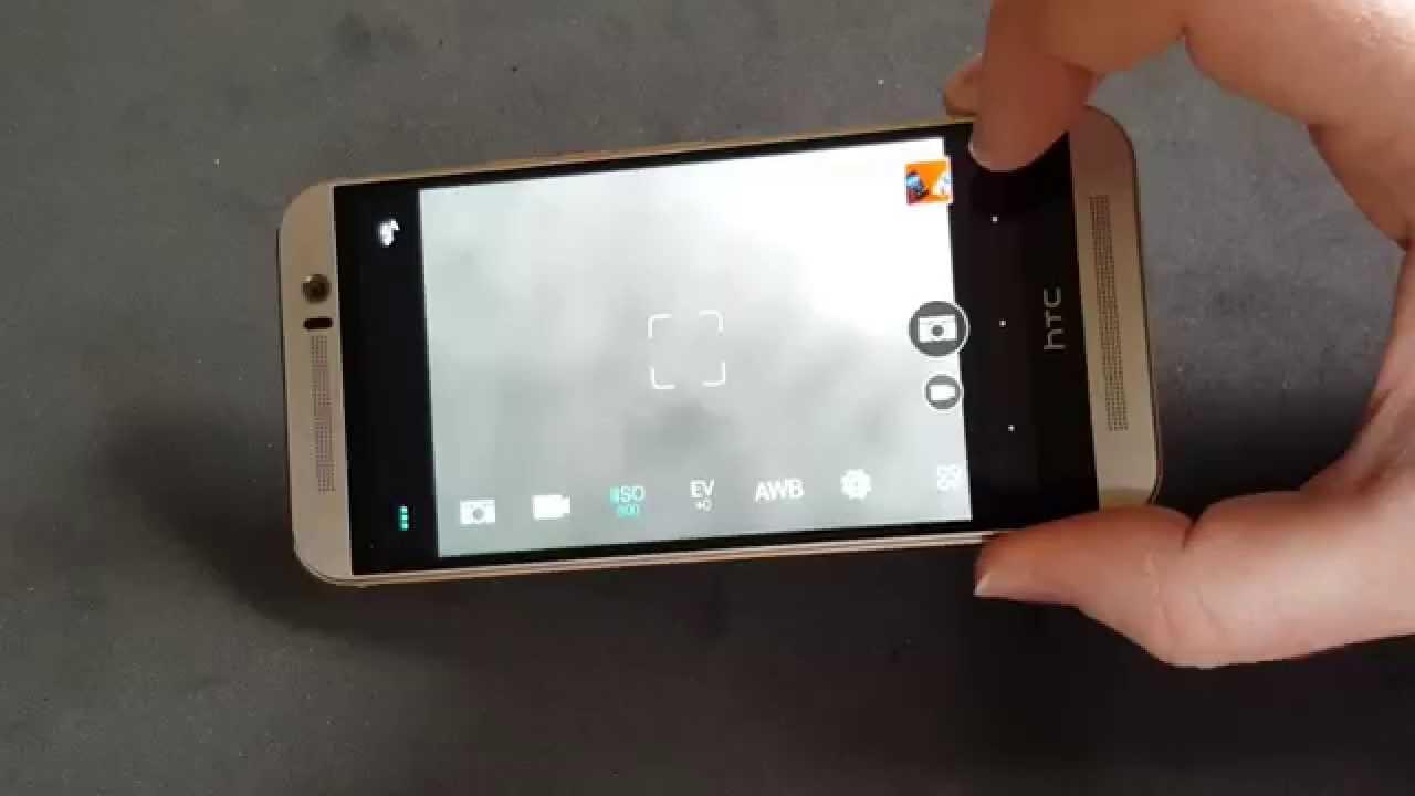 HTC One M9 camera fix