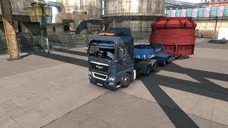 Euro Truck Simulator 2. Деталь котла 45т #4 (руль logitech g29)