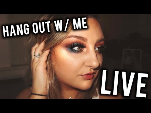 HANG OUT WITH ME   LIVE CHAT & Q&A
