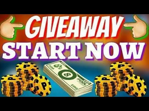 8 ball coin giveaway live uniqui 2480486367
