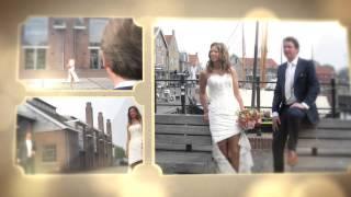 Huwelijk slideshow Wim-Rutger & Anne 24 april 2014