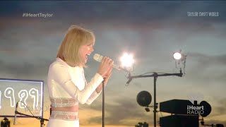 Taylor Swift - Style (live at 1989 Secret Session with iHeartRadio 2014-10-27)