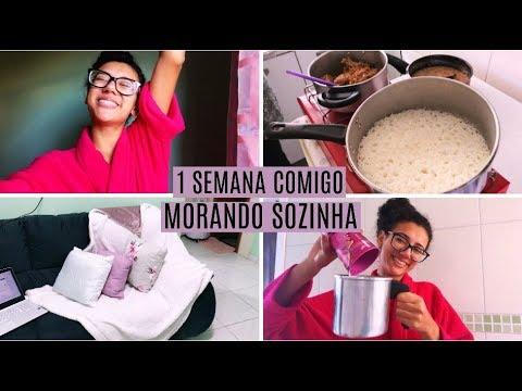 MORANDO SOZINHA - 1 SEMANA COMIGO #6 ♥ Natalia Souza