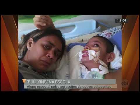 Criança especial sofre bullying na escola | SBT Brasília 15/06/2018
