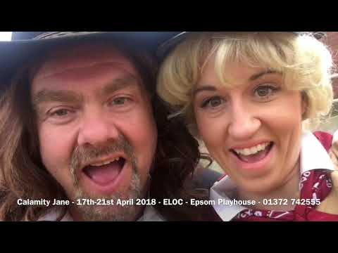 ELOC: Behind the scenes at the Calamity Jane Photo Shoot!