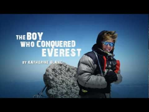 Interview with Jordan Romero from The Boy Who Conquered Everest by Katherine Blanc