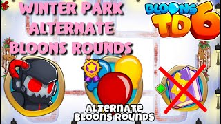 BTD6 - Winter Park - Alternate bloons rounds - hard (no knowledge)