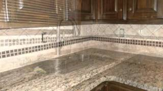 Granite Countertops- St Cecilia Reale-dark Cabinets 5 3 13