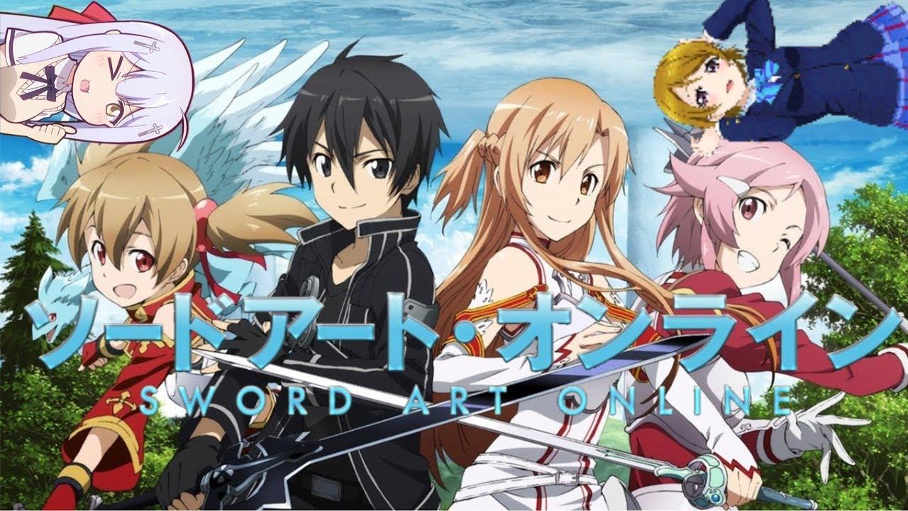 ''AMV - Sword Art Online'' - *Crossing Field* - YouTube