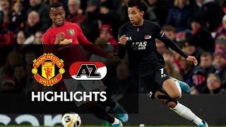 Highlights Manchester United   Az   Europa League