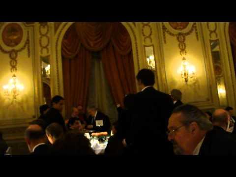 DISTINCIÓN PLÁCIDO DOMINGO HOTEL ALVEAR 24/03/2011