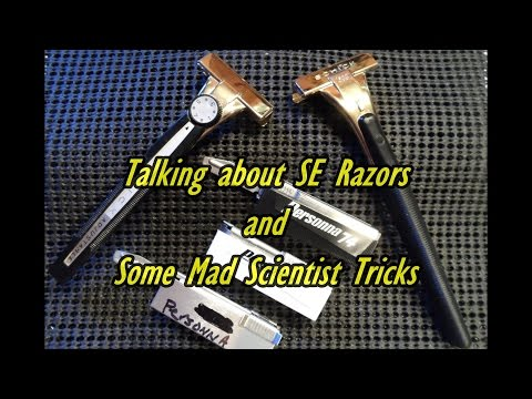 Talking about SE Razors and Some Mad Scientist Tricks of the Trade