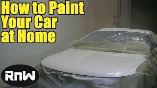 How to Paint a Car in Your Garage - Quick Version