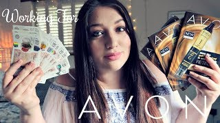 AVON REP HONEST REVIEW | WHAT IT'S REALLY LIKE  |  HOW MUCH MONEY DO YOU MAKE  | IS IT A SCAM??  ♡