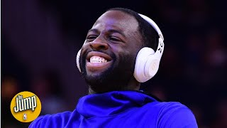 Draymond Green roasted a fan for paying $500 for Timberwolves courtside seats | The Jump