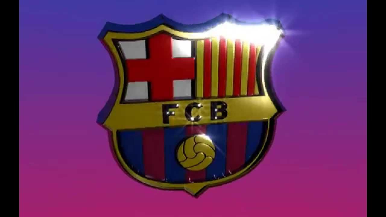 Fc barcelona logo 3d youtube biocorpaavc