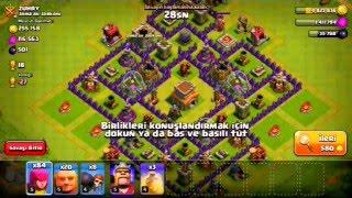 Clash Of Clans KB 8 Ganimet Kasma #3 İyi Seyirler :)