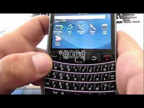 How to Unlock Blackberry Bold 9700