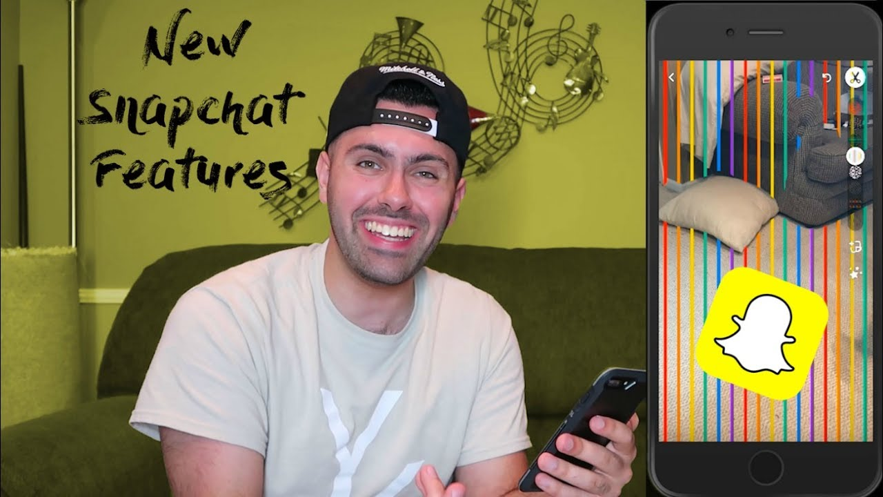 how to make a squeaky voice on snapchat