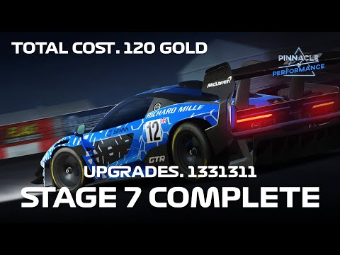 Real Racing 3 Pinnacle Of Performance Final Stage 7 Complete Upgrades 1331311 Total Cost 120 Gold