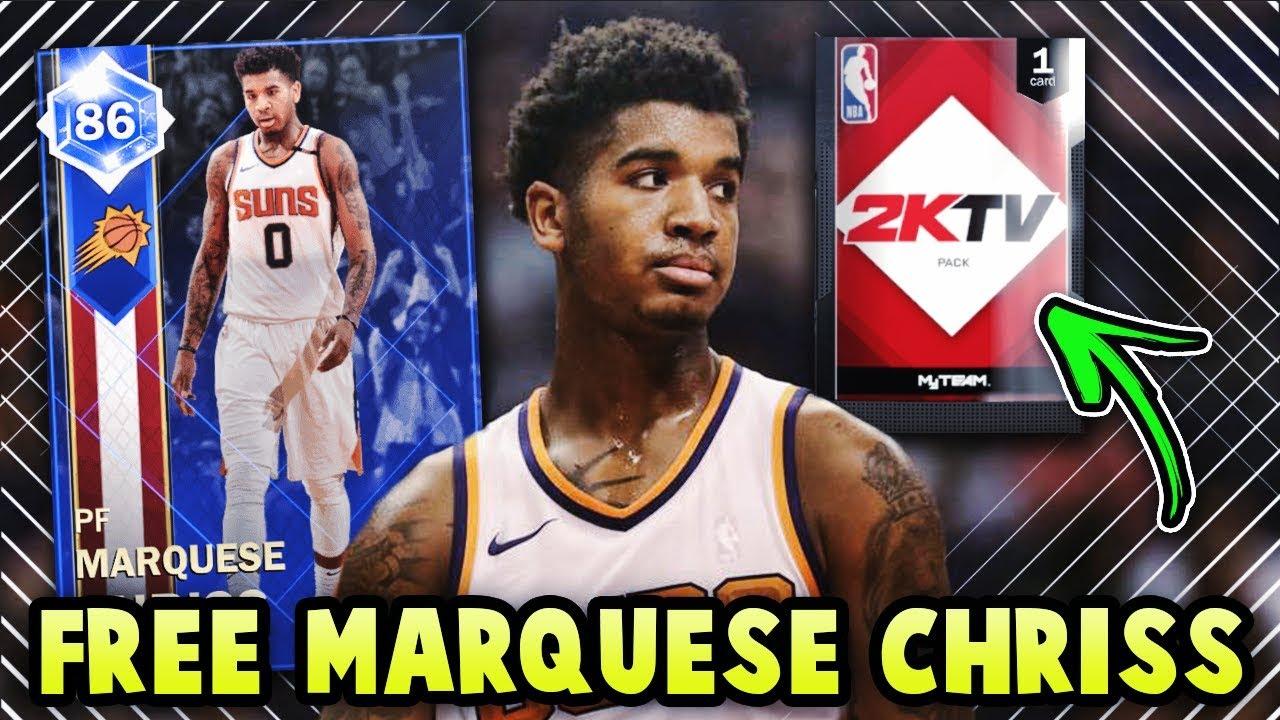 7a3de454119 NBA 2K18 FREE SAPPHIRE MARQUESE CHRISS IS INSANE!! *2KTV COLLECTION* | NBA  2K18 MyTEAM GAMEPLAY