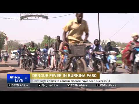 Burkina Faso says efforts to contain dengue fever have been successful