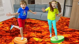 The Floor is Lava Song + more Children's Songs and Videos