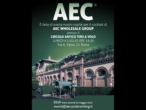 AEC Wholesale Group Cocktail 2015