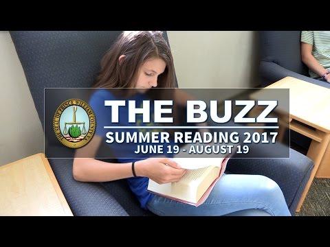 The Buzz: Summer Reading Program 2017