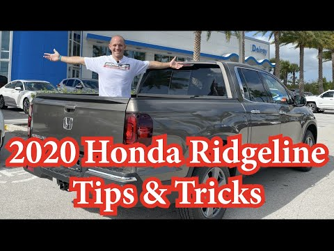 What's New In The 2020 Honda Ridgeline? Plus Tips & Tricks & Hidden Easter Egg