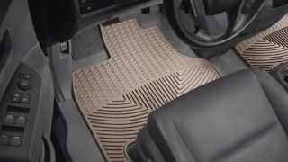 WeatherTech All-Weather Floor Mats: Product Information thumbnail