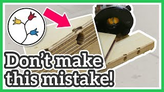 ROUTER BITS FOR EDGES – AVOID THIS MISTAKE with YOUR ROUTER