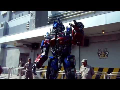 Transformers The Ride - 3D Orlando Grand Opening Part 1A