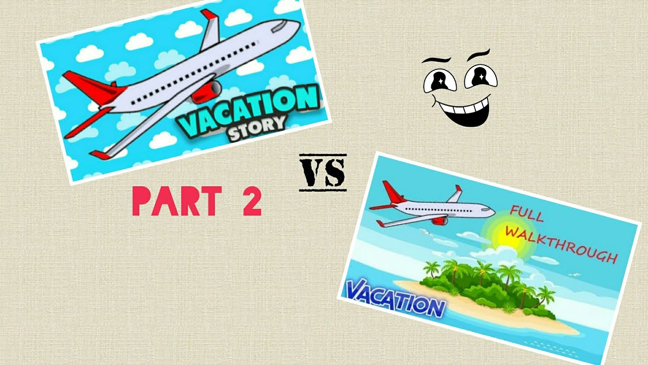 Vacation story old version vs new version part 2|Roblox ...