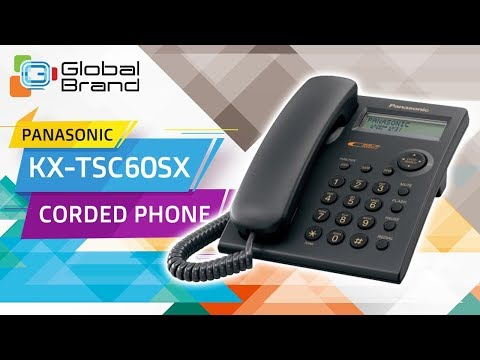 Panasonic KX-TSC60SX Corded Phone Integrated Telephone Set   PABX   Unboxing   Review