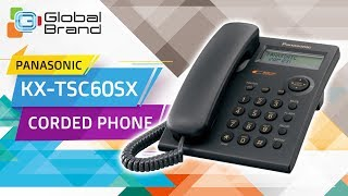 Panasonic KX-TSC60SX Corded Phone Integrated Telephone Set | PABX | Unboxing | Review