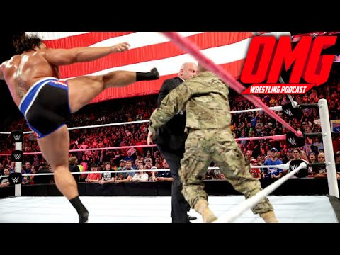 Rusev Knocked Out The US Marine - OMG Wrestling Podcast