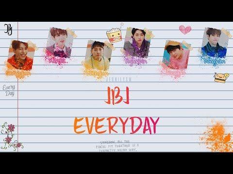 JBJ (Just Be Joyful) - 매일 (Everyday) [Lyrics Han|Rom|Eng Color Coded]