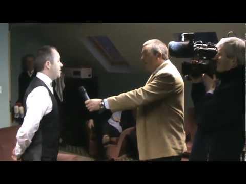 John Higgins MBE, interview with Derek Kiely