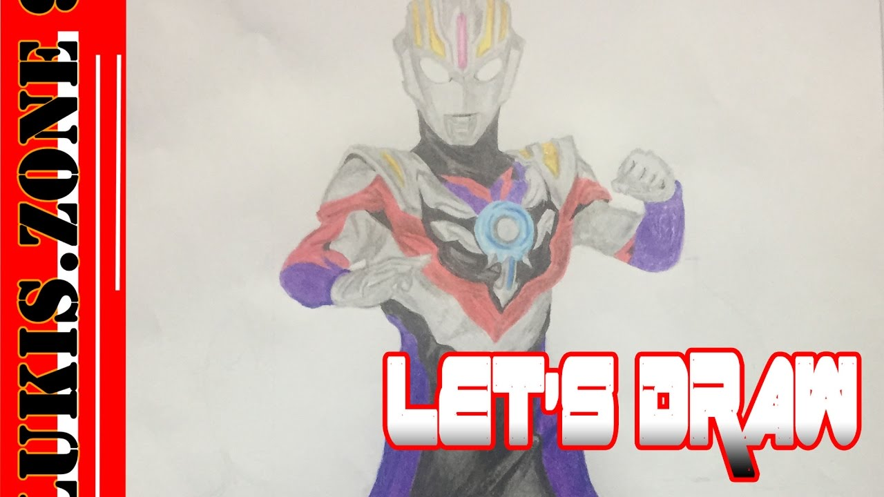 Lets Draw Ultraman Orb Spacium Zeperion Youtube