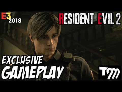 RESIDENT EVIL 2 REMAKE - 15 Minutes of Gameplay | E3 2018